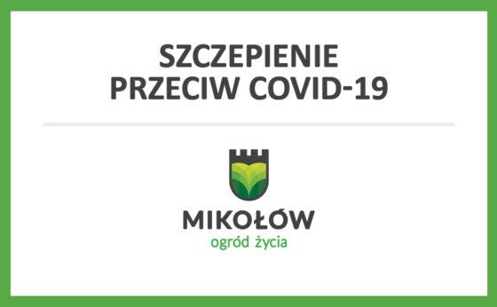 Szczepienia przeciw COVID-19 w Mikołowie