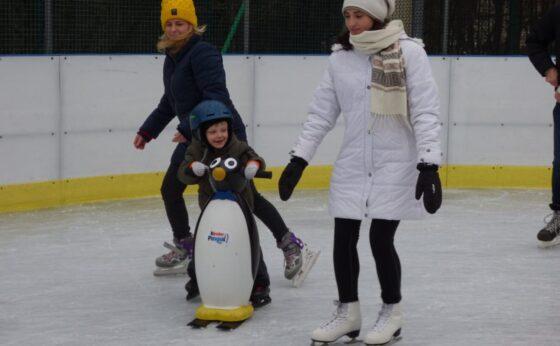 Nauka gry w hokeja na lodzie i Pierwsze kroki na lodzie