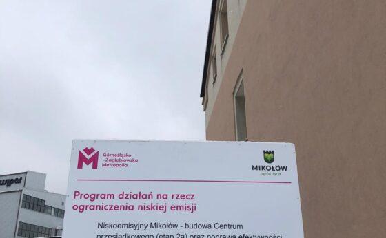 Niskoemisyjny Mikołów – budowa Centrum przesiadkowego (etap 2a) oraz poprawa efektywności energetycznej oświetlenia w Gminie Mikołów (etap II)