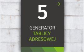 Generator tablic adresowych – mikołowski system identyfikacji miejskiej